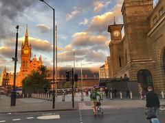 Dawn at Kings Cross, London (PaChambers) Tags: uk 2016 dawn early england cross st kings capital pancras city morning london urban station