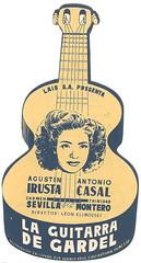 La guitarra de Gardel (Kirby York) Tags: cine español clasico carteles programasdemano movieposters spanishfilms