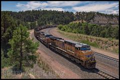 _JM18515 (saltley1212) Tags: union pacific ac44cw 5854 6370 crawford hill nebraska coal train