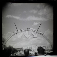 (zom3izi) Tags: home developed 120 holga glastonbury 2014 negative held over light from phone shot with canon 60d
