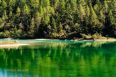 Lago delle fate a Macugnaga (Andrea Serafini) Tags: mountain montagna macugnaga lago fate chiesa alba dawn lake fresh water alpi alps