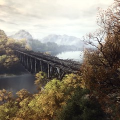 The beginning of mysterious story... (Skyline*) Tags: the vanishing ethan carter redux