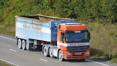 DA60 DHG (panmanstan) Tags: mercedes actros wagon truck lorry commercial bulk freight transport haulage vehicle hgv a180 meltonross lincolnshire