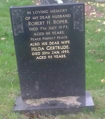 Roper, Robert H, Hilda Gertrude (TeearLady59) Tags: outdoor bulwell roper roberth hildagertrude