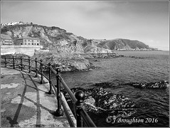 Mevagissy 2016_4_bw (johnzsv) Tags: mevagissy bw blackandwhite monochrome m10 england em10 olympus sea seascape harbour cornwall outside outdoor