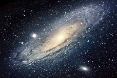 M31 - The Andromeda Galaxy (nickvrstp) Tags: andromeda galaxy astrophotography night skywatcher telescope stars space m31 m110 m32 astrometrydotnet:id=nova1769378 astrometrydotnet:status=solved