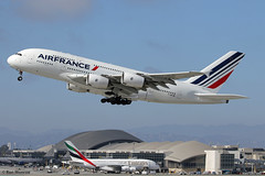 Air France, Airbus A380-800 (Ron Monroe) Tags: airfrance airbus a380 lax klax airliners airlines fhpjb
