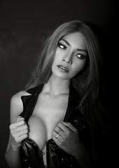 Dreamy (Jay Aremac) Tags: asian asiatin corsage dekollete female fashion ploy thai thailaenderin boobs breasts cleavage decollete dreamy erotic erotisch frau fraulich girl indoor people portrait seducive sexy tits titten titties verfuehrerisch vertraeumt weiblich woman
