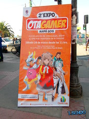 Otagamer Maipú 2015 (Takeshi Sendo) Tags: cute metal cosplay connor chii chobits gear kawaii zelda legend mgs taiga metalgear silenthill the bigboss lotz cutedress maipú lossimpsons assassinscreed eventoanime cosplaychile barbarojacosplay mirokucosplay