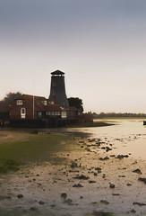Run Of The Mill (NVOXVII) Tags: mill bay nikon moody gloomy waterfront hayling tide adobe atmospheric greysky lightroom langstone d3200