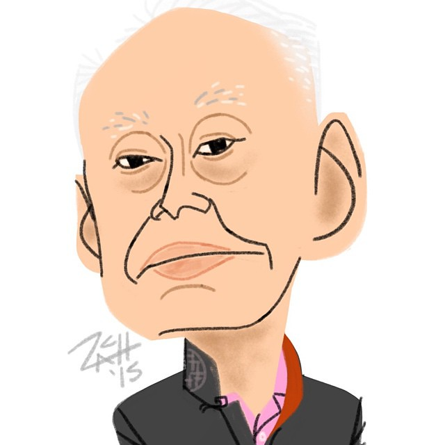 Daily Sketch/ Founder & first P.M. of Singapore LEE KUAN YEW (1923-2015)