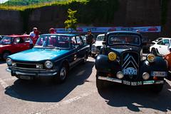 2 generazioni (maximilian91) Tags: italy italia liguria citroen oldcars vintagecars simca frenchcars montoggio citroentractionavant simca1301