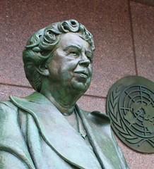 Eleanor Roosevelt, 1884  1962 (ktmqi) Tags: sculpture monument bronze washingtondc fdrmemorial firstlady eleanorroosevelt