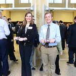 Student greeters at the 2015 Professional Networking Symposium