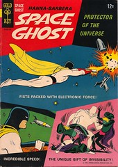 Space Ghost No. 1 (Gold Key 1966) (Donald Deveau) Tags: cartoon comicbook spaceghost tvshow hannabarbera alextoth goldkey 1960stv