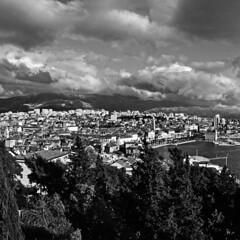 111 (antekatic365) Tags: city sea blackandwhite panorama clouds town nikon harbour croatia center split viewpoint adriatic marjan hrvatska dalmatia ante sveti mosor duje katic d3100