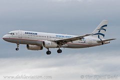 SX-DGD, Aegean Airlines, Airbus A320-200. - cn 4065. (dahlaviation.com Thanks for over 1 !! million view) Tags: oslo norway airplane aircraft aviation airplanes airbus spotting osl gardermoen a320 aircrafts planespotting engm aegeanairlines