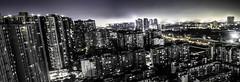 Chengdu, ville grise vue du ciel