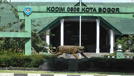 Markas Kodim 0606 kota Bogor