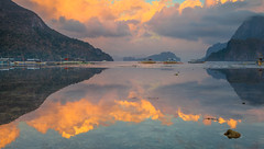 sunrise,bacuit bay,west philippine sea,summer 2015 (larrygomez46) Tags: sunrise islands palawan exoticplaces nationaltreasures westphilippinesea fineartsimages ancietnnativelands