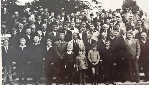 Mieszkańcy Szydłowca w Częstochowie/lata 60-te/