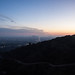 View West and Century City from Runyon Canyon - Los Angeles, CA