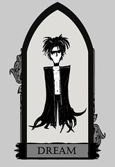 Dream (Chaz Walker) Tags: illustration mirror graphicdesign gothic goth dream vertigo fanart fantasy comicbook marker sandman gaiman neilgaiman endless