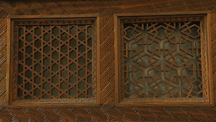 Intricate Afghan woodwork (annikaAn) Tags: afghanistan kabul turquoise mountain woodwork wood