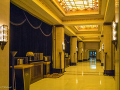 art deco (Hlne Baudart) Tags: art architecture hotel deco fairmont chine schanghai