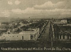 Vista general de Zaza del Medio (lezumbalaberenjena) Tags: zaza sancti spiritus cuba vintage old viejas fotos antiguas lezumbalaberenjena