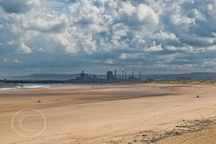 Northumberland road trip Aug 2016_0058 - Steelworks at Redcar from the beach at Seaton Carew (Mark Schofield @ JB Schofield) Tags: nationalpark north northumberland northumbria east england coast dunstanburgh castle tynemouth river tyne tees wear pier landscape canon 5dmk3 beach redcar