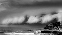 STORM ON BONDI (Marcus Revill) Tags: storm bondi beach ocean bondibeach shelf cloud rain nature