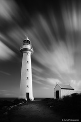 Point Lowly Lighthouse (renatonovi1) Tags: pointlowly lighthouse whyalla southaustralia landscape clouds longexposure bw blackandwhite