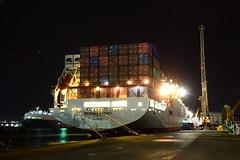 Messina Strait (DST_8810) (larry_antwerp) Tags: messinastrait reefer container abes terminal 9267546 seatrade antwerp antwerpen       port        belgium belgi          schip ship vessel
