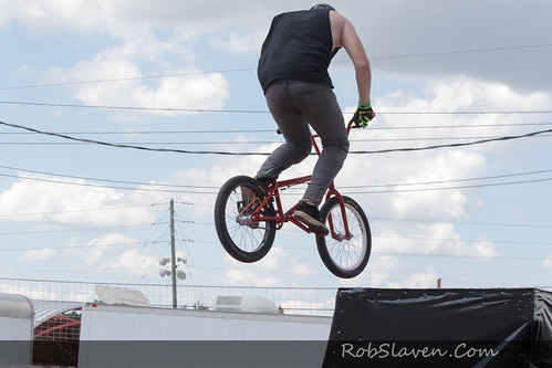 2016 Indiana State Fair BMX Freestyle