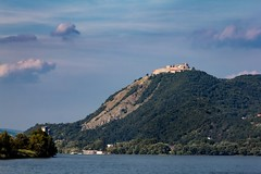 (kareszzz) Tags: visegrd fellegvr hill castle 2016 august summer 60d canoneos60d canon70200l 70200l landscape duna danube boattrip travelphotography contrast mountains sky clouds