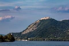 (kareszzz) Tags: visegrád fellegvár hill castle 2016 august summer 60d canoneos60d canon70200l 70200l landscape duna danube boattrip travelphotography contrast mountains sky clouds