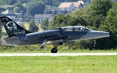 "Aero L-39C ""Albatros"" - Slovak AF '5301' landing @ LZSL (stecker.rene) Tags: aero vodochody l39 l39c albatros 2nd sqn squadron sliac lzsl landing runway gras trainer 90years otto smik 5301 military jet airbase afb airforce slovakairforce aircraft landed village siaf siaf16 siaf2016 canon eos7d tamron 150600mm airshow aerialdisplay flyingdisplay"
