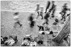 Statique et Mouvement (Les_Pas_Presses) Tags: abstrait architecture cathédrale cokinnd4 explore exposition humour immeuble insolite lespaspressés matériel monument mystère nikond750 noirblanc notredame palais paris pont poselongue quaideseine rue sigma2470 streetphoto ville voyage
