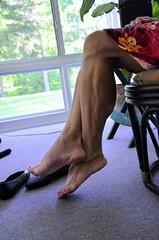 _DSC0010jj (ARDENT PHOTOGRAPHER) Tags: calves muscular female woman flexing skinny mature milf gilf highheels tiptoe
