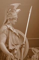Classical Statues (Chris Draper) Tags: classical greek roman statue statues cambridge museumofclassicalarchaelogy naturallight soft softlight sepia victorian cast casts light shadow historical archaeology