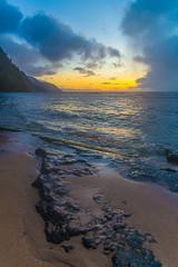 Kauai 2016-201 (firegraph) Tags: kee kauai hawaii sunset