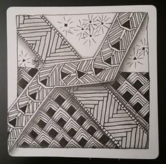 Diva 286 (christiane_eichler) Tags: doodle tangle zentangle diva 286 classic tile ovy hibred flukes aaah pattern