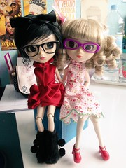 René & Charlie (pullip RIDa & Stica) (Fidjie) Tags: doll stica starks pullip jun planning rida charlie rene