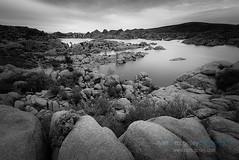 (Ryan C. McGinley) Tags: arizona clouds granitedells lake prescott rocks sunset water watsonlake