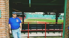 Hanging at Fenway Park (bpephin) Tags: redsox fenway boston bostonredsox baseball mookie