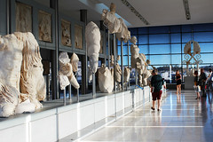 A day at the museum (Katrinitsa) Tags: acropolismuseum democracy ancientgreece athens greece acropolis history civilization marbles sculpture sculptures art artistic parthenon colors museum exhibits light visitors tourists spirit classic ionic classicalgreece pheidias statue