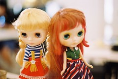 Thank you @tsilli, I #love these pictures. She took them on #film #filmcamera of my #blythe #doll #ブライス. ❤️📷 #フィルム #フィルムカメラ #フィルム写真 #Kodak #toys4life