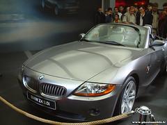 Mondial de l'Automobile 2002 - BMW Z4 (Deux-Chevrons.com) Tags: paris france car automobile automotive voiture coche bmw motor z4 roadster cabriolet motorcar bmwz4 mondialdelautomobile mondialdelauto