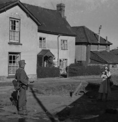 It Happened Here. (theirhistory) Tags: uk film wales soldier britain uniforms 16mm radnor c1960 oldradnor germaninvasion